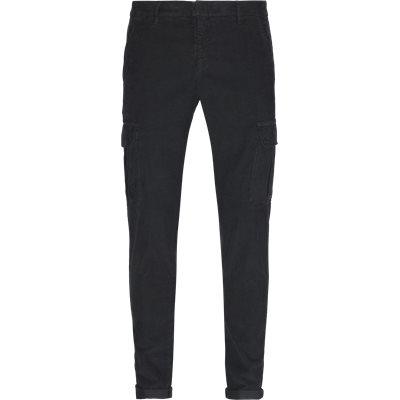 Corduroy Pants Slim fit | Corduroy Pants | Grå